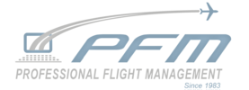 Professional Flight Management, Inc. logo